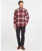 Men's Barbour Atholl Tailored Shirt - Rich Red Check