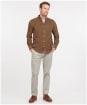 Men's Barbour Ramsey Tailored Shirt - Brown