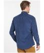 Men's Barbour Ramsey Tailored Shirt - Dark Denim