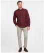 Men's Barbour Uxbridge Tailored Shirt - WINTER RED