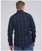 Men's Barbour International Steve McQueen 1857 Check Shirt - Navy Check