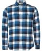 Men's Barbour International Steve McQueen Checker Shirt - Legion Blue Check