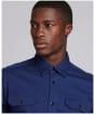 Men's Barbour International Scope Shirt - Regal Blue