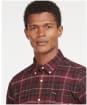 Men's Barbour Kyeloch Tailored Shirt - WINTER RED TRTN