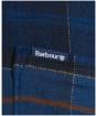 Men's Barbour Kyeloch Tailored Shirt - MIDNIGHT TARTAN