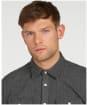 Men's Barbour Bicklow Shirt - Grey Marl