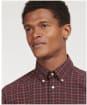 Men's Barbour Lomond Tailored Shirt - WINTER RED TRTN