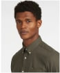 Men's Barbour Coalford Tailored Shirt - Olive