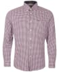 Men's Barbour Padshaw Tailored Shirt - Rich Red