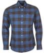 Men's Barbour Malton Tailored Shirt - Navy Check