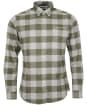 Men's Barbour Malton Tailored Shirt - Olive Check