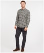Men's Barbour Lamesley Tailored Shirt - Olive Check