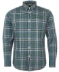 Men's Barbour Hambledon Tailored Shirt - Green Check