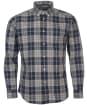 Men's Barbour Hambledon Tailored Shirt - Grey Marl Check