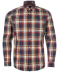 Men's Barbour Hambledon Tailored Shirt - Navy Check