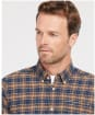 Men's Barbour Alderton Tailored Shirt - Navy Check