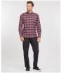 Men's Barbour Alderton Tailored Shirt - Ruby Check