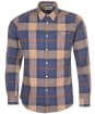 Men's Barbour Farley Tailored Shirt - Navy Check