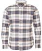 Men's Barbour Portdown Tailored Shirt - Ecru Check