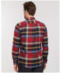 Men's Barbour Carlton Tailored Shirt - Rich Red Check