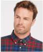 Men's Barbour Ronan Tailored Shirt - Navy Check