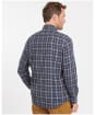Men's Barbour Delamere Eco Tailored Shirt - Navy Check