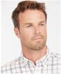 Men's Barbour Delamere Eco Tailored Shirt - White Check