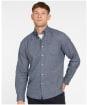 Men's Barbour Priestcliffe Tailored Shirt - Navy
