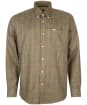 Men's Barbour Henderson Thermo Weave Shirt - Olive