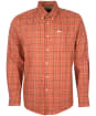 Men's Barbour Pelton Regular Fit Shirt - Garnet Red