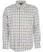 Men's Barbour Coll Thermo Weave Shirt - Ecru Check
