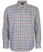 Men's Barbour Coll Thermo Weave Shirt - Grey Marl Check