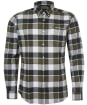 Men's Barbour Valley Tailored Shirt - Olive Check