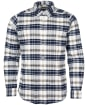 Men's Barbour Ladle Tailored Check Shirt - Ecru Check