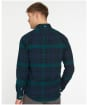 Men's Barbour Ladle Tailored Check Shirt - Navy Check