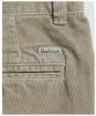 Men's Barbour Neuston Stretch Cord Trousers - Mid Grey