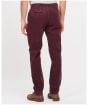 Men's Barbour Neuston Stretch Cord Trousers - Dark Merlot