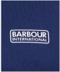 Men's Barbour International Small Logo Tee - REGAL BLU/BLACK