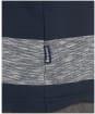 Men's Barbour Ortun Striped Tee - Navy