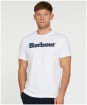 Men's Barbour Offset Logo Graphic Tee - White