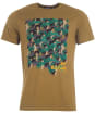 Men's Barbour Outdoors Graphic Tee - Mid Olive