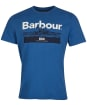 Men's Barbour Isle Graphic Tee - Loch Blue