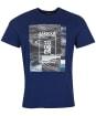 Men's Barbour International Snakepass Tee - Regal Blue