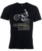 Men's Barbour International Arc Tee - Black
