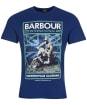 Men's Barbour International Arc Tee - Regal Blue