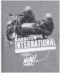 Men's Barbour International Arc Tee - Anthracite Marl