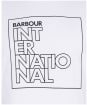 Men's Barbour International Outline Tee - White