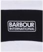 Men's Barbour International Accelerator Panel Tee - White