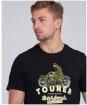Men's Barbour International Tourer Tee - Black