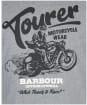 Men's Barbour International Tourer Tee - Anthracite Marl